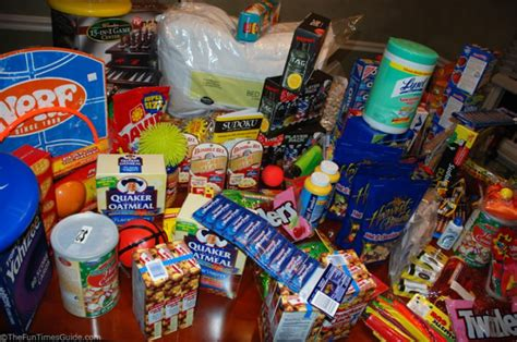 support our troops send em a fun holiday care package