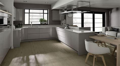 grey gloss kitchen cabinets remo handleless gloss dove grey