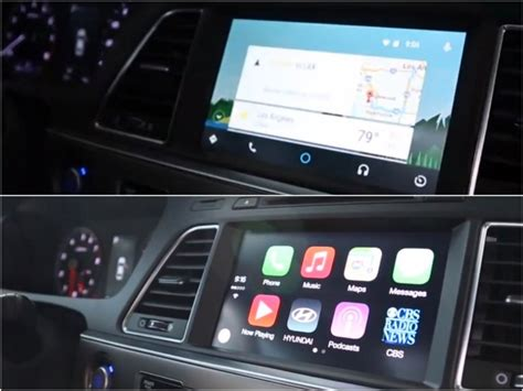 carplay android android auto versus apple carplay in tech demo did it better autoevolution