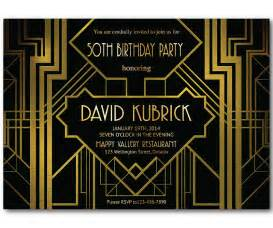 Gatsby Themed Party Invitation » Home Design 2017