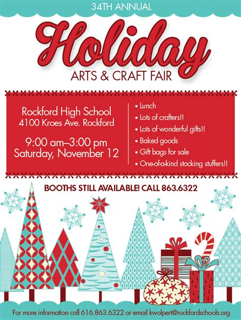34th annual holiday arts and craft fair