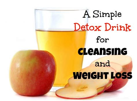 Simple Detox For Weight Loss a simple detox drink for cleansing and weight loss