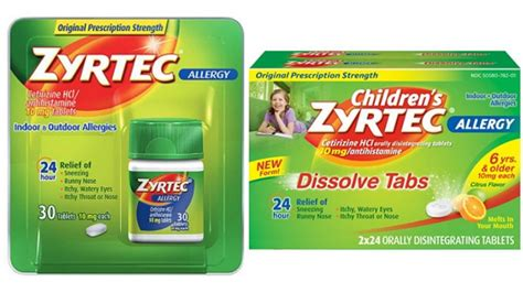 zyrtec printable coupon july 2015 zyrtec coupon save 5 00living rich with coupons 174