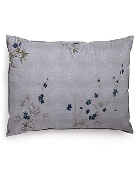 Calvin Klein Bamboo Flowers King Comforter by Calvin Klein Bamboo Flowers King Sham Bedding