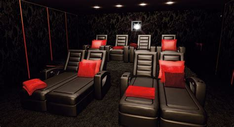 Garage To Bedroom Conversion are you sitting comfortably home cinema seating explained