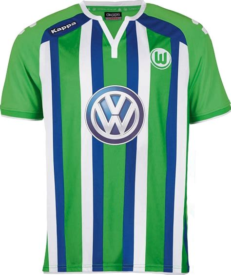 Arsenal 04 Raglan kappa wolfsburg 2015 16 football jerseys