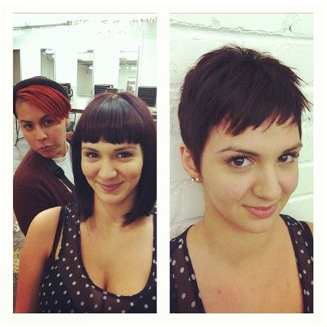 pixie hairstyles before and after 17 best images about brunette pixie cuts on pinterest