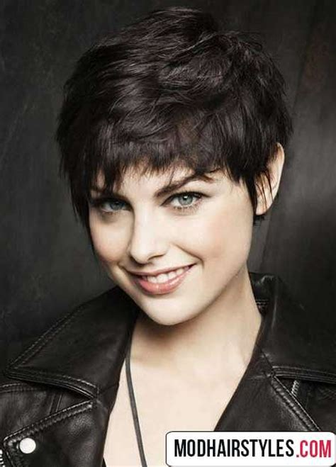 exciting shorter hair syles for thick hair short hairstyles for thick hair elegant short haircuts