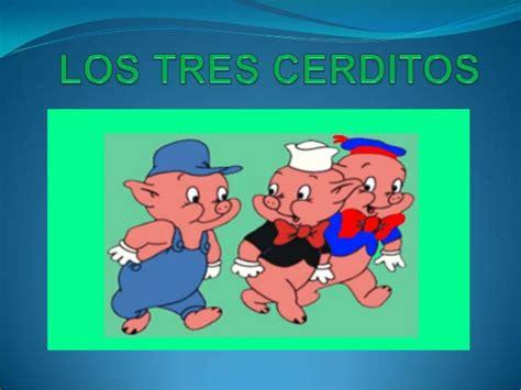 los tres cerditos 8430530177 los tres cerditos
