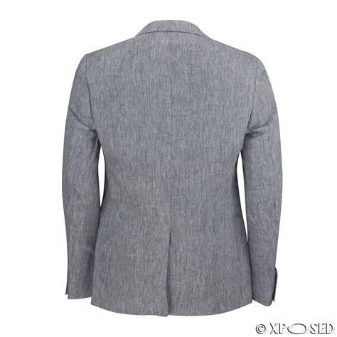 Linen Cotton Jacket mens vintage cotton linen blend slim fit blazer smart