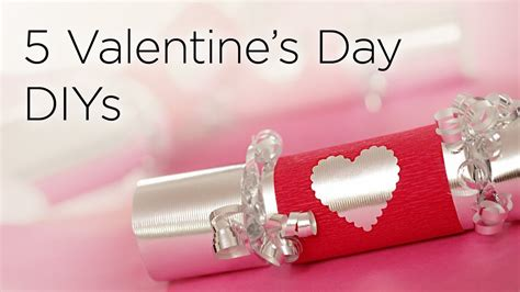 5 Valentines Day Gifts by 5 Diy Valentines Day Gifts Treats