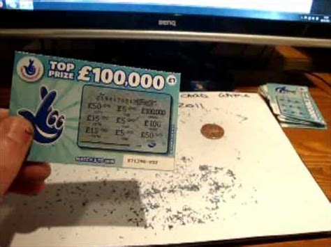National Lottery Instant Wins Odds - how to win more on uk lottery doovi