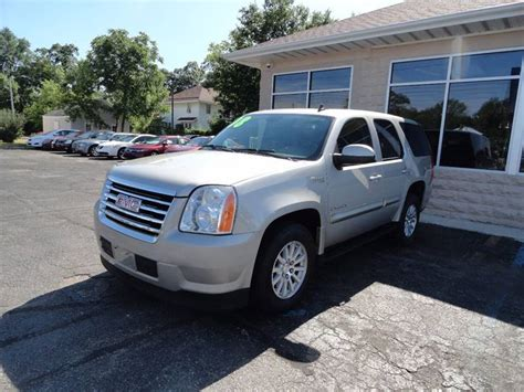 gmc hybrid vehicles gmc yukon hybrid for sale used cars on buysellsearch