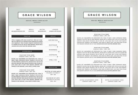 two page resume format awesome can a resume be 2 pages paso evolist
