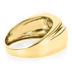 baguette ring 14k gold mens ring baguette and 0 8ct