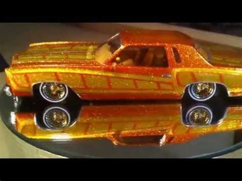 Handmade Model Cars - custom lowrider model car 77