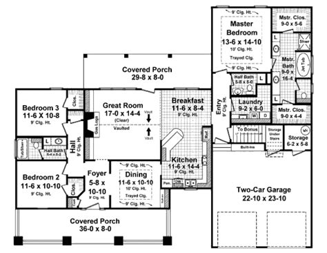 1900 sq foot ranch house plans craftsman style house plan 3 beds 2 5 baths 1900 sq ft