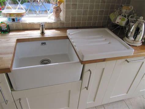 Drainer Ceramic Kitchen Sinks by Astracast Ceramic Belfast Butler Drainer For Kitchen Sink