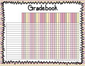 printable gradebook one stop counseling shop organization binder gradebook