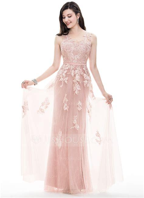 a line princess prom dresses a line princess scoop neck floor length tulle prom dresses
