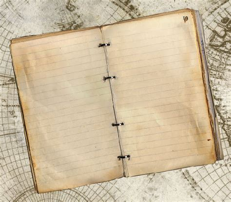 How To Make A Diary With Paper - reader tutorial create vintage traveler diary in photoshop