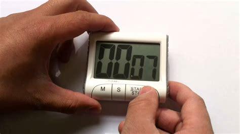 timer digitale cucina funzionamento timer da cucina