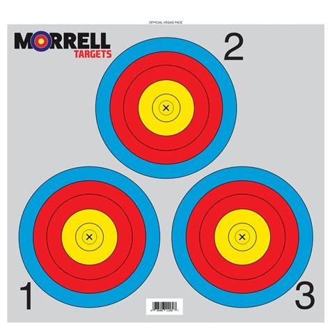 printable vegas targets paper face archery targets nfaa vegas 3 spot target