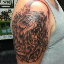 85 rough bear tattoo designs amp meanings feel the wild