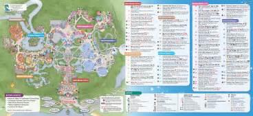 Printable Disney World Maps by Printable Magic Kingdom Park Map