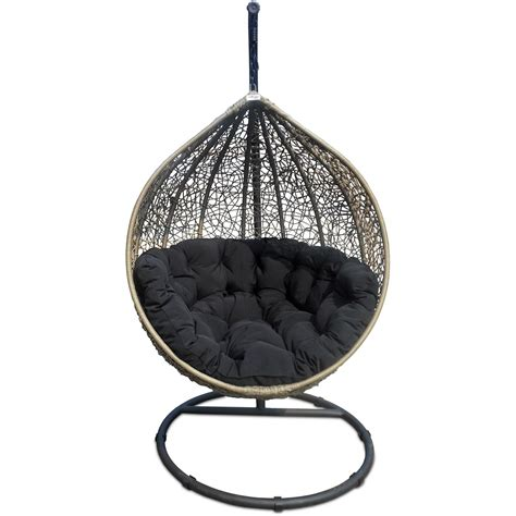 cacoon swing chair cocoon swing chair beige woo design