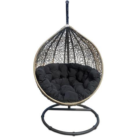Cocoon beige swing chair woo design