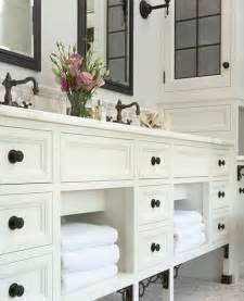 cabinets white bathroom