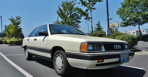 seattle s parked cars 1985 audi 5000s