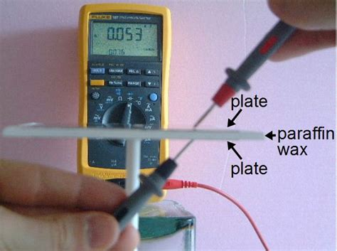 capacitor with dielectric material what is capacitor dielectric constant and how to measure it do it yourself india magazine