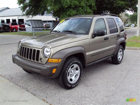 2007 light khaki metallic jeep liberty sport 29483936 gtcarlot car color galleries
