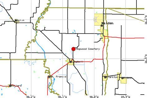 Missouri Service Letter Request Hopwood Cemetery Dunklin County Missouri