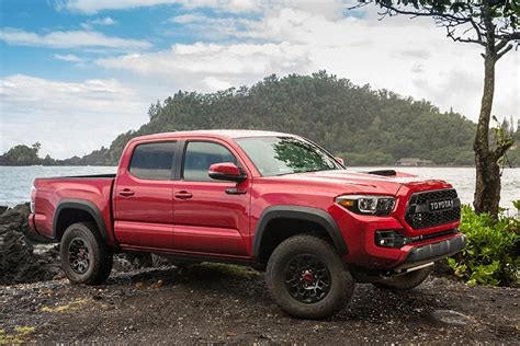 Toyota Tacoma Truck Toyota S Trd Pro Road Truck Package Pushes High