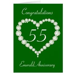 55th wedding anniversary cards 55th wedding anniversary