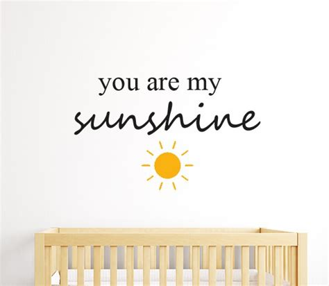 you are my wall add this you are my wall sticker to your lillte ones walls
