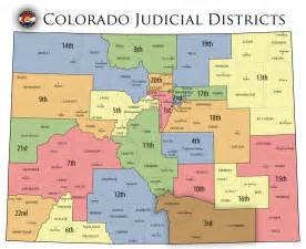 colorado state cus map colorado state judicial branch courts district map