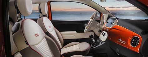 Fiat 500 Upholstery Fiat 500 Anniversario Platts Garage Group