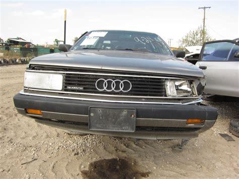 junkyard find  audi  quattro turbo  truth