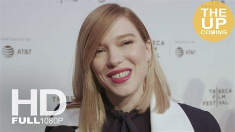 lea seydoux youtube interview l 233 a seydoux interview at zoe premiere tribeca film
