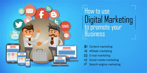 Executive Mba In Digital Marketing In India by How To Use Digital Marketing To Promote Your Business