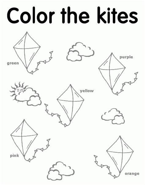 wind coloring pages for preschool preschool kite az coloring pages az coloring pages