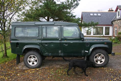 land rover 110 our land rover defender 110 td5 county part 1 171 appy