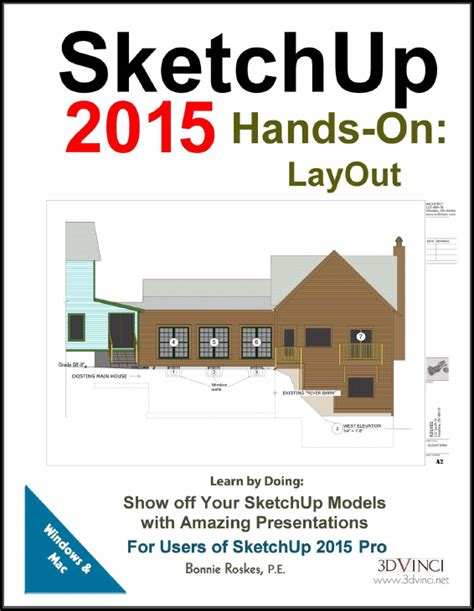 tutorial sketchup 2016 pdf sketchup books for design professionals 3dvinci