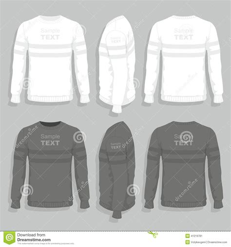 Sweater Illustration Stock Vector Image 41219781 Sweater Design Template