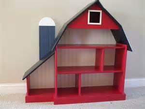 barn bookshelf blue silo kids childrens furniture and