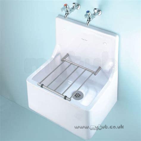Stainless Steel Kitchen Sinks X - armitage shanks alder s590001 510mm cleaners sink wh armitage shanks